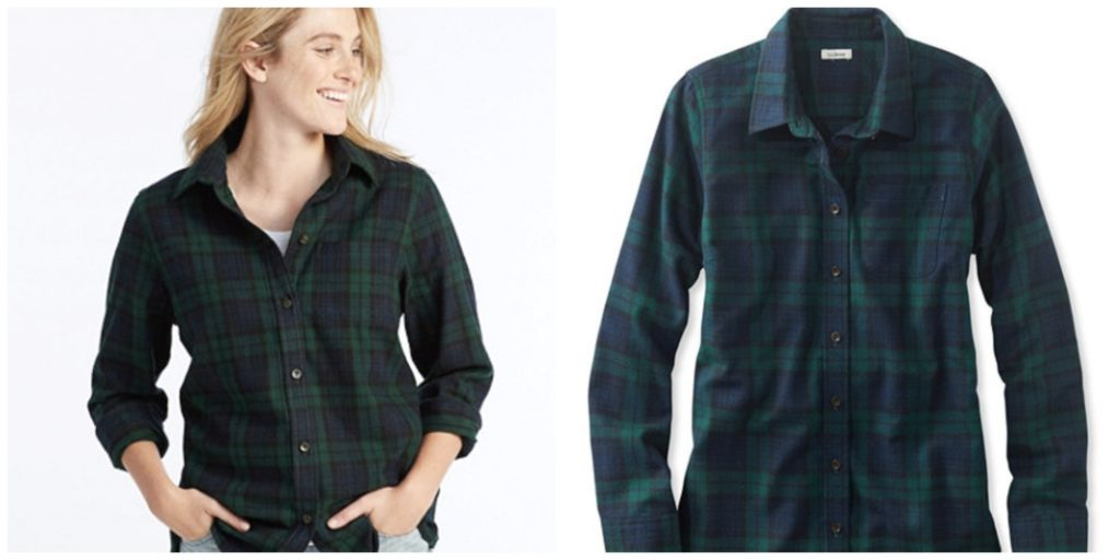 LL.Bean Scotch Plaid Shirt, Relaxed women
