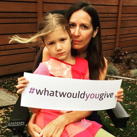 Sarah Coglianese what would you give
