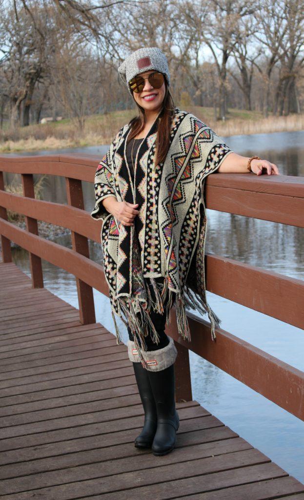 Como combinar un Poncho y lucir a la moda by alicia borchardt