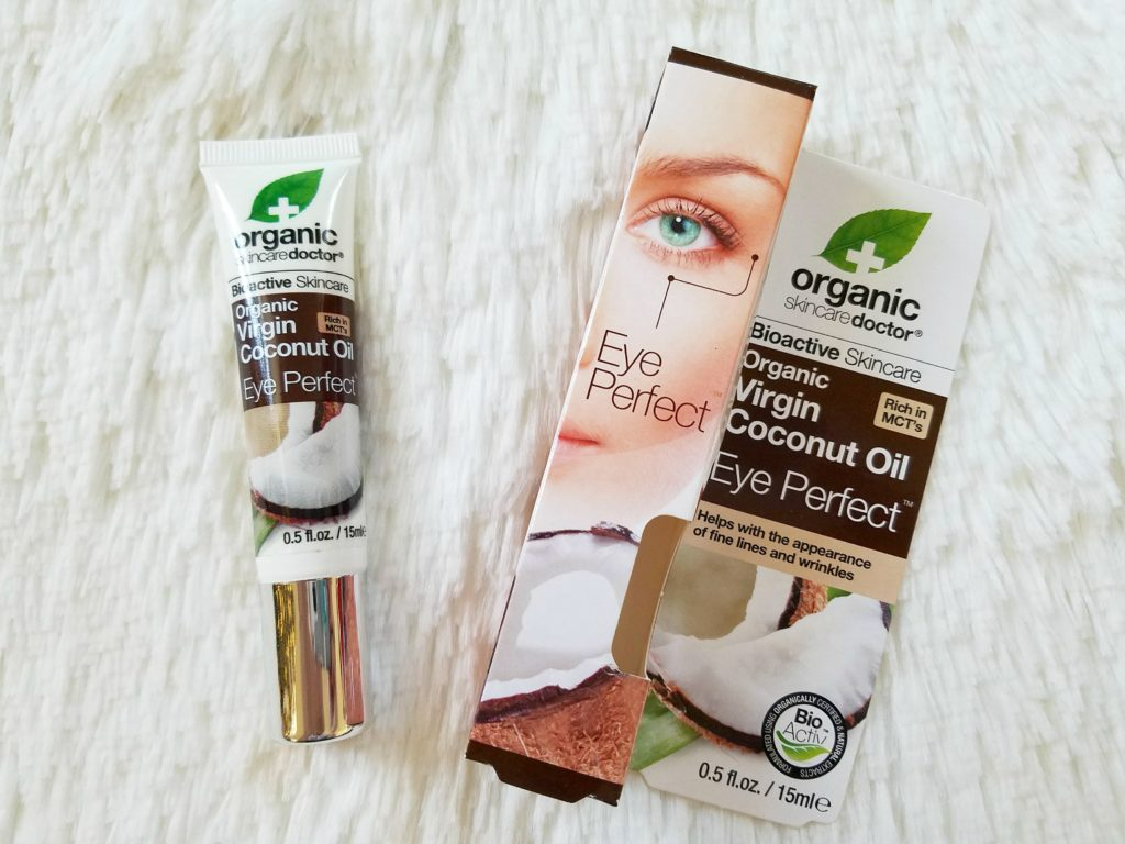 organic skincare doctor virgin coconut oil eye perfect by alicia borchardt